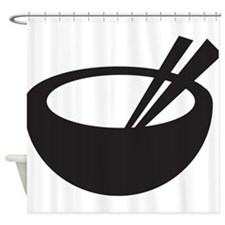 Rice Bowl Shower Curtain