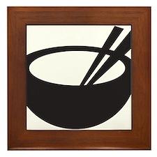 Rice Bowl Framed Tile