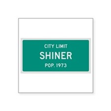 Shiner, Texas City Limits Sticker