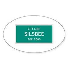 Silsbee, Texas City Limits Decal