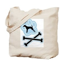 Red Pointer Tote Bag