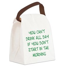 Drink All Day Canvas Lunch Bag