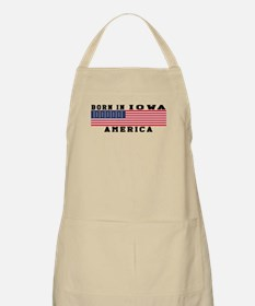 Born In Iowa Apron