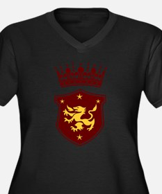 Shield and Crown Plus Size T-Shirt