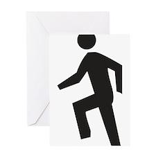 Dancing Guy Greeting Card