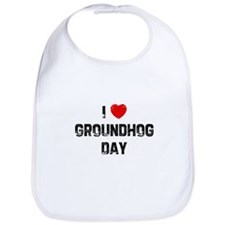 I * Groundhog Day Bib
