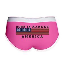 Born In Kansas Women's Boy Brief