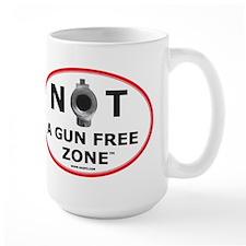 NOT A GUN FREE ZONE Mug