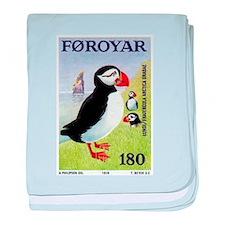 Vintage 1978 Faroe Islands Puffins Postage Stamp b