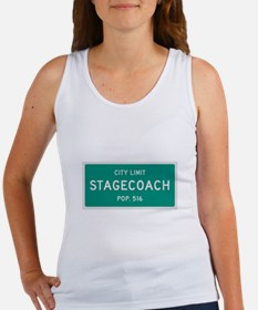 Stagecoach, Texas City Limits Tank Top