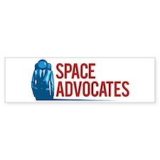 Space Advocates Badge Bumper Car Sticker