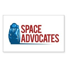 Space Advocates Badge Decal