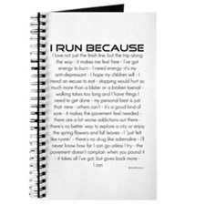 I Run Because... Journal