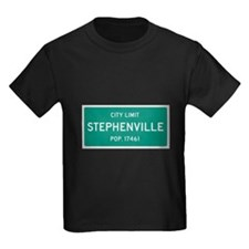 Stephenville, Texas City Limits T-Shirt
