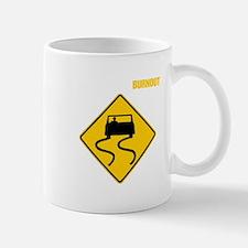Burnout Traffic Sign 2 Mug