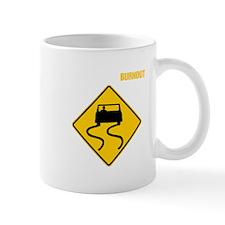 Burnout Traffic Sign 3 Mug