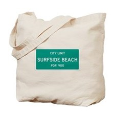 Surfside Beach, Texas City Limits Tote Bag