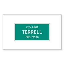 Terrell, Texas City Limits Decal