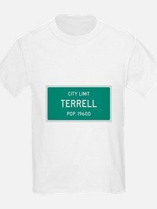 Terrell, Texas City Limits T-Shirt