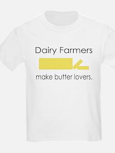Dairy Farmers Make... Kids T-Shirt