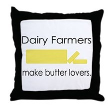 Dairy Farmers Make... Throw Pillow