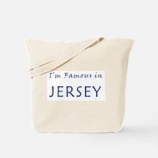 I'm Famous in NJ Tote Bag