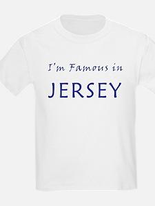 I'm Famous in NJ Kids T-Shirt