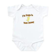 I'm Huge in NJ Infant Bodysuit