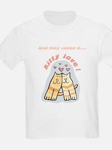 Kitty Love Kids T-Shirt
