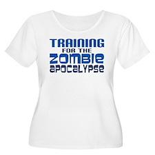 Training for Zombie Apocalypse Plus Size T-Shirt
