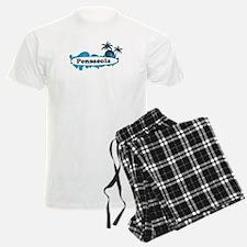 Pensacola Beach - Surf Design. Pajamas