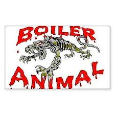 Boiler Animal Oval Decal