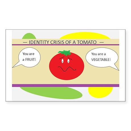 Identity Crisis Sticker