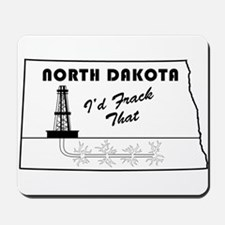Frack the Bakken Mousepad