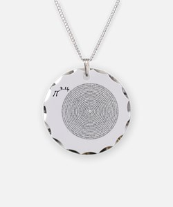 pi 3.14 art Necklace