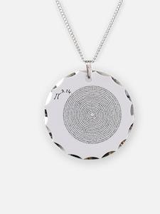 pi 3.14 art Necklace