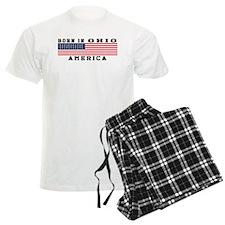 Born In Ohio Pajamas