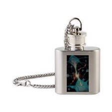 Synapse, artwork - Flask Necklace