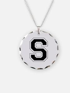 Collegiate Monogram S Necklace
