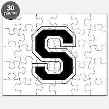 Collegiate Monogram S Puzzle