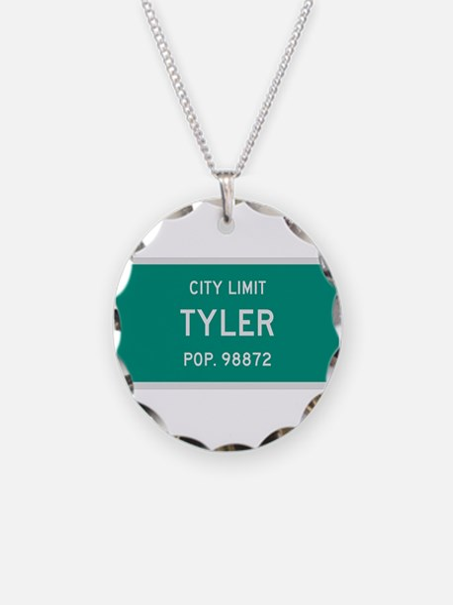 Tyler, Texas City Limits Necklace