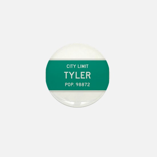 Tyler, Texas City Limits Mini Button