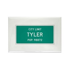 Tyler, Texas City Limits Rectangle Magnet