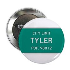 "Tyler, Texas City Limits 2.25"" Button"