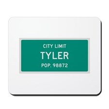 Tyler, Texas City Limits Mousepad