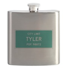 Tyler, Texas City Limits Flask