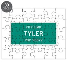 Tyler, Texas City Limits Puzzle
