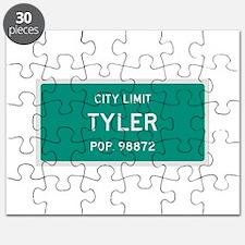 Tyler, Texas City Limits Puzzle