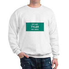 Tyler, Texas City Limits Sweatshirt