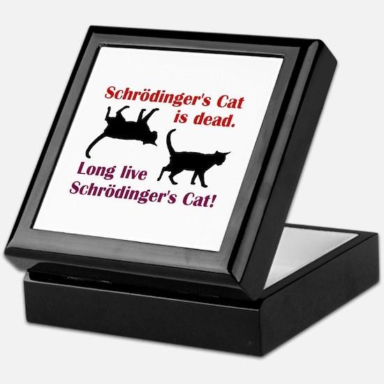 Schrodingers Cat Keepsake Box